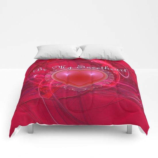 Be My Sweetheart Comforters