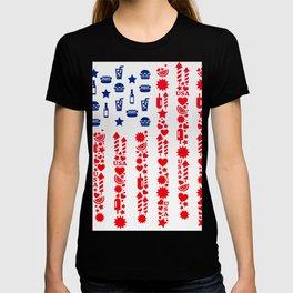 Fourth Of July Celebration USA Flag T-shirt