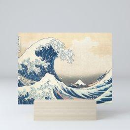 The Great Wave off Kanagawa (Highest Resolution) Mini Art Print