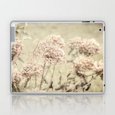 Antique Hydrangeas -- Dreamy Pastel Autumn Botanical Laptop & iPad Skin