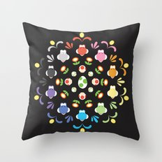 Yoshi Prism Throw Pillow