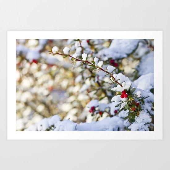 Sweet winter Art Print