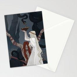The Punishment of Loki Stationery Cards