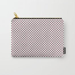 Renaissance Rose Polka Dots Carry-All Pouch