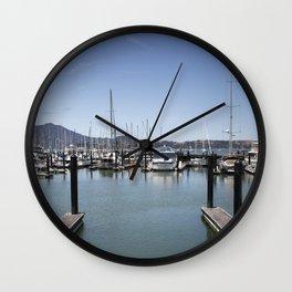 Empty Dock Wall Clock