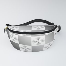 Pussy Checkerboard Abstract Fanny Pack