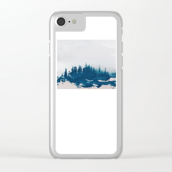 Hollowing souls Clear iPhone Case