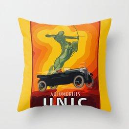 Unic automobiles Throw Pillow