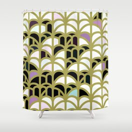 Nuvo gost hill Shower Curtain