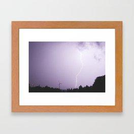 Revelations in the Night Sky  Framed Art Print