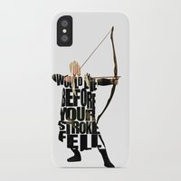 legolas iPhone & iPod Cases featuring Legolas - Orlando Bloom by A Deniz Akerman