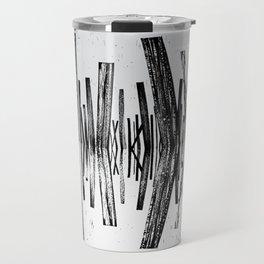 minimal b.w. Travel Mug