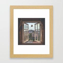 Vietnam Hostel Views Framed Art Print