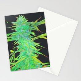 Hemp harvest art number 4 Stationery Cards
