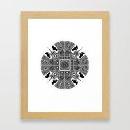 RITUAL THEFT Framed Art Print