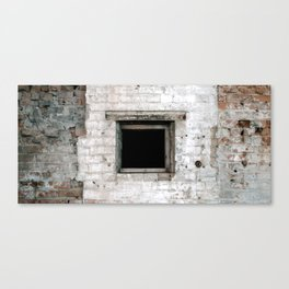 square hole Canvas Print