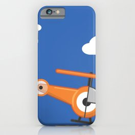 hel.eye.copter iPhone Case