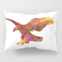 Bald Eagle 01 in watercolor Pillow Sham