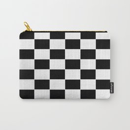Checkerboard pattern Carry-All Pouch