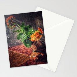 Fleur et Vase Stationery Cards