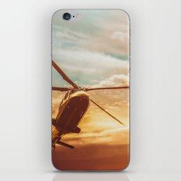 Evening Flight iPhone Skin