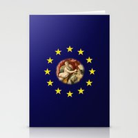 europe Stationery Cards featuring Europe by Turul