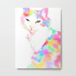 Cherry the cat Metal Print