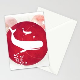 Ocean Series - Mama Whale Stationery Cards