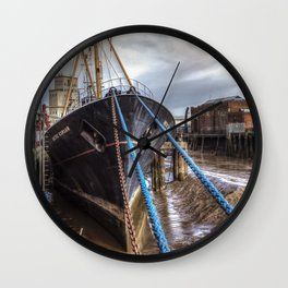 The Artic Corsair, old Fishing Trawler Wall Clock
