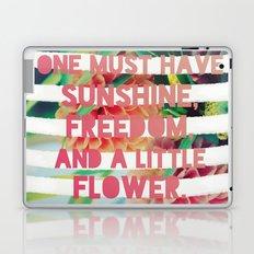 Sunshine//Freedom//Flower Laptop & iPad Skin