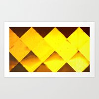 honeycomb Art Prints featuring Honeycomb by JReisPhotoDesign