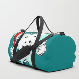 Dental Care happy Tooth with Toothbush Duffle Bag