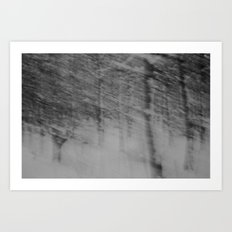 {come closer and see, see into the trees} Art Print