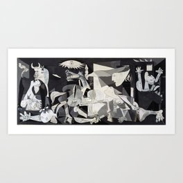 Pablo Picasso Guernica 1937 Artwork Shirt, Art Reproduction for Prints Posters Tshirts Men Women Art Print