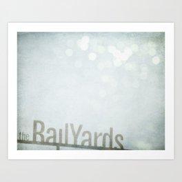 The Railyards Art Print