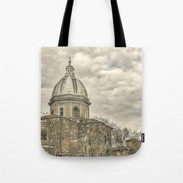 Rome Downtown Architecture Urban Scene Tote Bag