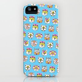 Extraterrestrial Cats iPhone Case