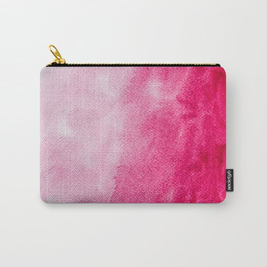 Hopeless, Romantic And Pink #decor #buyart #society6 #art #prints Carry-All Pouch