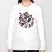 baphomet Long Sleeve T-shirts featuring Baphomet Cutie by Artetak