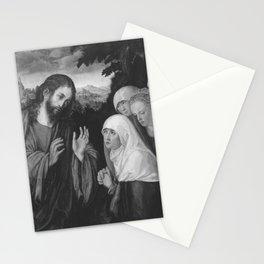 Lucas Cranach the Elder - Christus nimmt Abschied von seiner Mutter (Kopie nach dem Gemälde im Kunst Stationery Cards