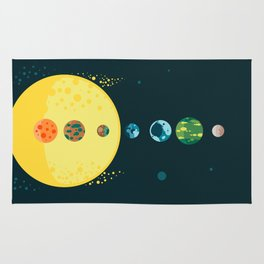 Trappist System Rug