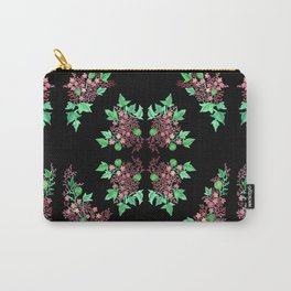 Red Coralline Flowers Carry-All Pouch