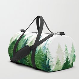 Pine Trees 2 Duffle Bag