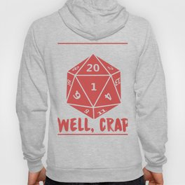 20 Sided Dice DM Table Top Role Playing Graphic Hoody