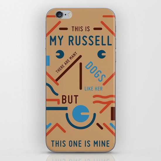 My Russell iPhone & iPod Skin