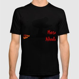 Ski speeding at Rosa Khutor T-shirt