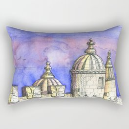belem tower . torre de belem Rectangular Pillow