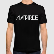 AVATARDE SMALL Mens Fitted Tee Black