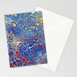 Dragonskin - Abstract Flow Acrylic Stationery Cards