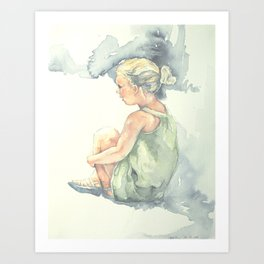 Wonderful Silence || Nganting Art Print